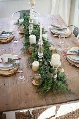 viste tu mesa de navidad