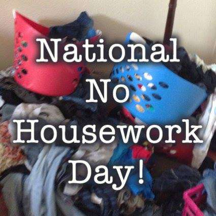 National No Housework Day Wishes for Whatsapp