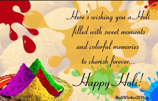 Happy Holi 2018 Whatsapp Status (Shayari), Holi Whatsapp DP