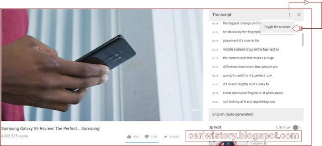 Cara Membuat artikel Bahasa Inggris Paling Mudah dari Video Youtube