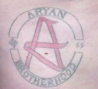 Tatuaje de la Hermandad Aria