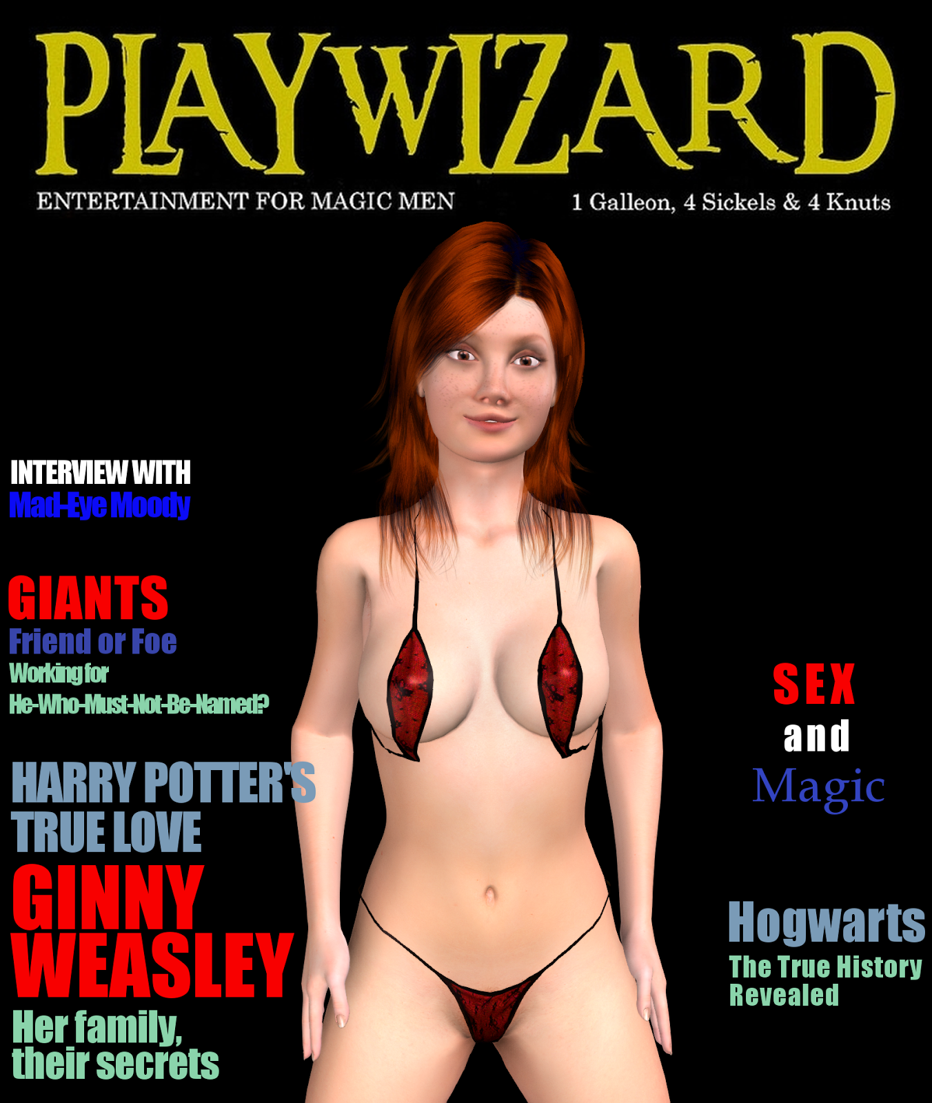 Harry Potter Sexy Animated 3D Porn Pics And Videos -2470