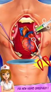 تحميل لعبة دكتور جراحة القلب