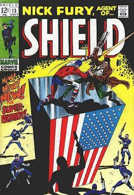 Agent of SHIELD #13, the Super-Patriot