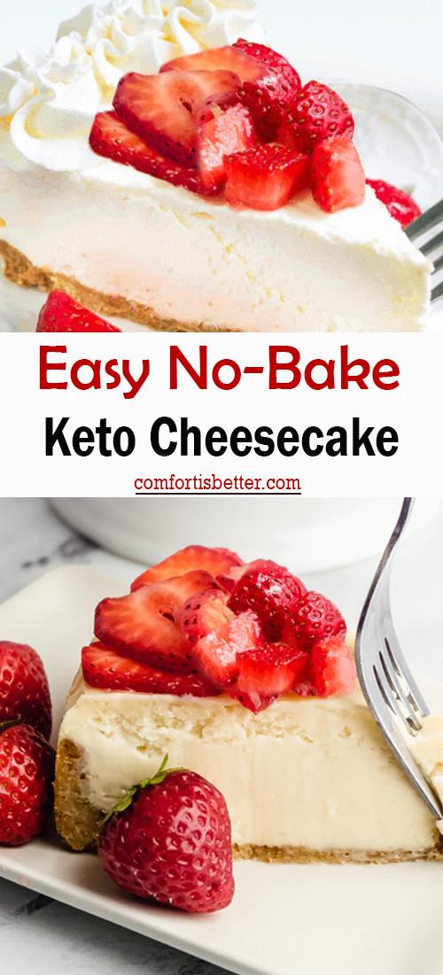 Best Easy No Bake Keto Cheesecake
