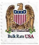 Selo de 1991 Águia e o escudo