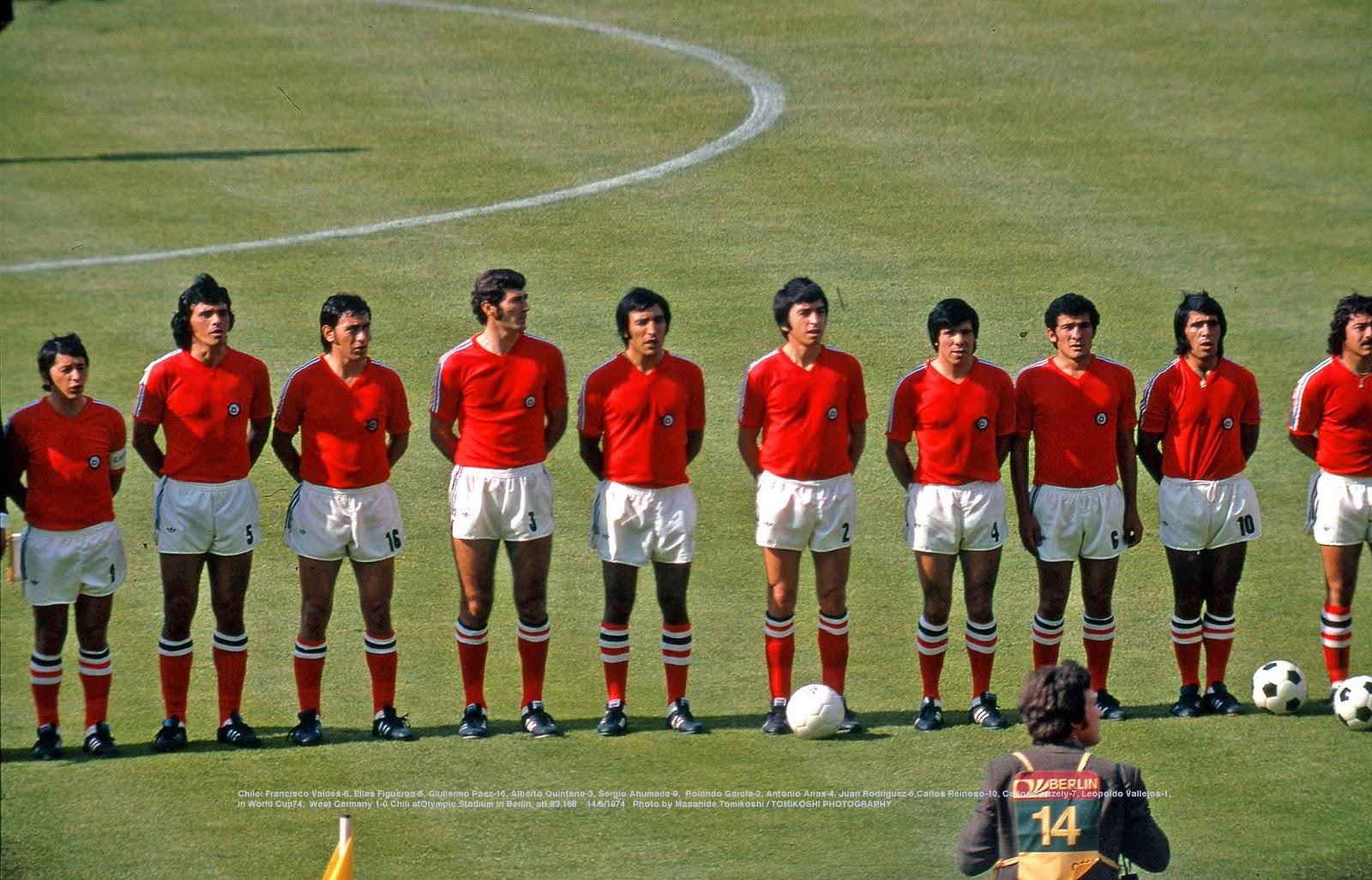 Formación de Alemania Federal ante Chile, Copa del Mundo Alemania 1974, 14 de junio