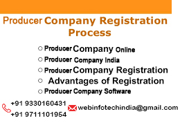 producer company registration process online india