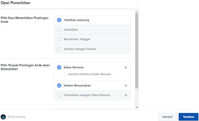 Panduan Postingan Terjadwal Video Facebook