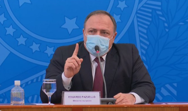 Vacina contra Covid: Pazuello diz que 230 milhões de doses serão entregues até 31 de julho