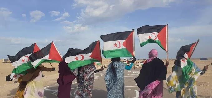 منظمات غير حكومية إسبانية تعرب عن تأييدها للمطالب المشروعة للمتظاهرين الصحراويين في الگرگرات.