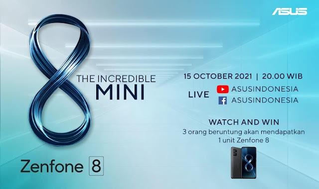 ASUS Zenfone 8 Masuk Pasar Indonesia