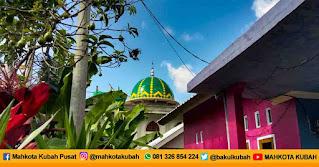 Pemasangan Kubah Masjid Enamel Lombok Timur