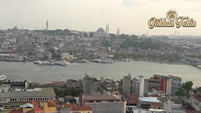 İstanbul manzara görünümü