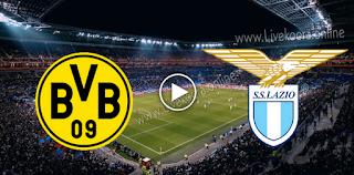 مشاهدة مباراة لاتسيو وبوروسيا دورتموند بث مباشر بتاريخ 20-10-2020 في دوري أبطال أوروبا