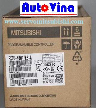 Bán PLC Mitsubishi FX3U-48MR/ES-A hàng mới Fullbox