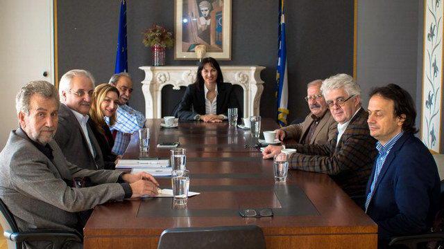 Συνάντηση βουλευτών ΣΥΡΙΖΑ Αν. Μακεδονίας και Θράκης με την Έλενα Κουντουρά