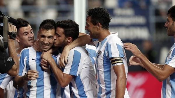 Sigue aquí el Málaga - Real Sociedad de la 2015/2016