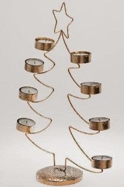 Christmas Tree Tea-Light Holder