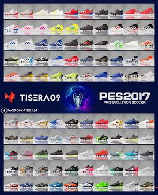 PES 2017 Bootpack v15 by Tisera09