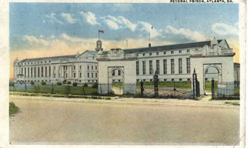 Postcard of the Federal Penitentiary, Atlanta, Georgia (unknown 1920, public domain)