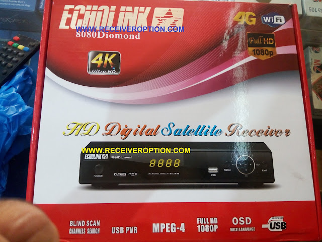 HOW TO ENTER POWERVU KEY IN ECHOLINK 8080 DIOMOND HD RECEIVER