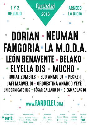 Fardelej Festival Cartel 2016 ENTRADAS