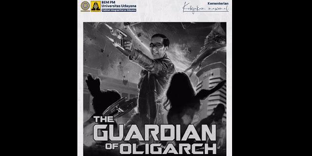 <i>The Guardian of Oligarch</i> yang Disematkan pada Jokowi Ingatkan Sembilan Naga