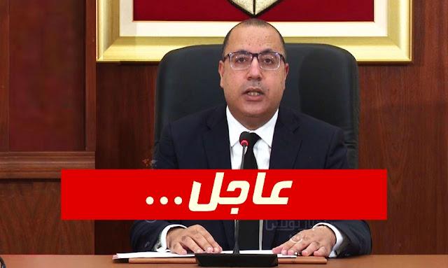 هشام المشيشي مصاب بفيروس كورونا رغم تلقيه لجرعتي اللقاح