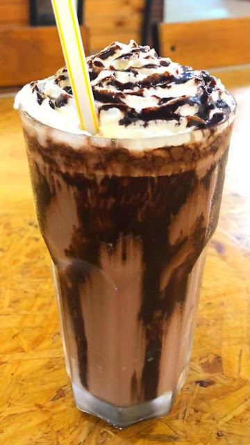Ice blended chocolate food delivery #codchef