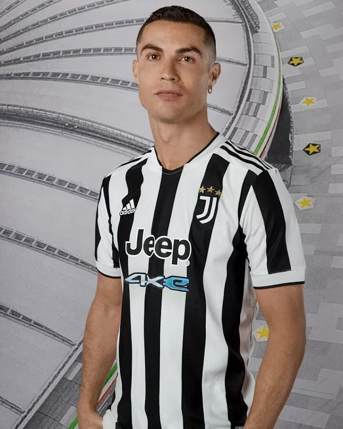 Adidas unveil the new Juventus home shirt for the 2021/22 season