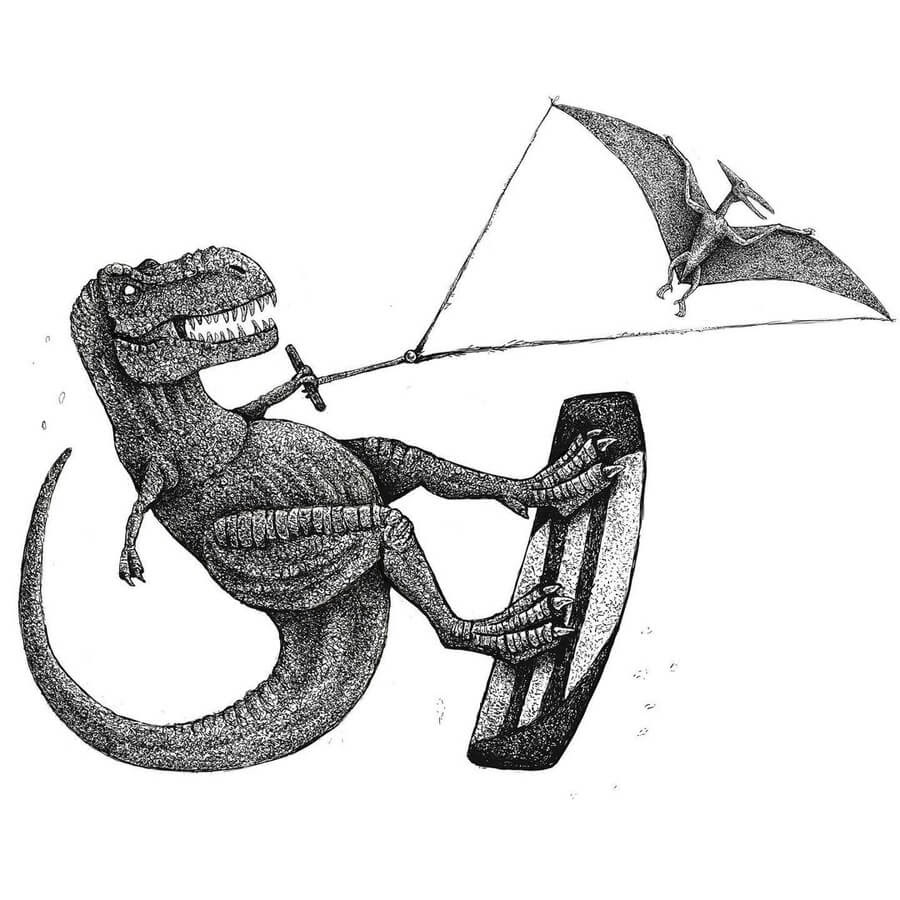 08-Dinosaurs-Kiteboarding-Tim-Andraka-www-designstack-co