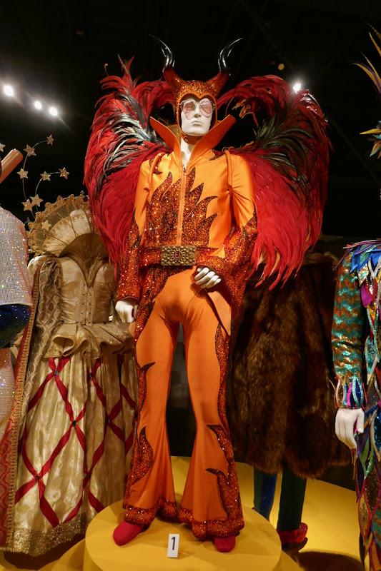 Taron Egerton Rocketman Elton John Devil costume