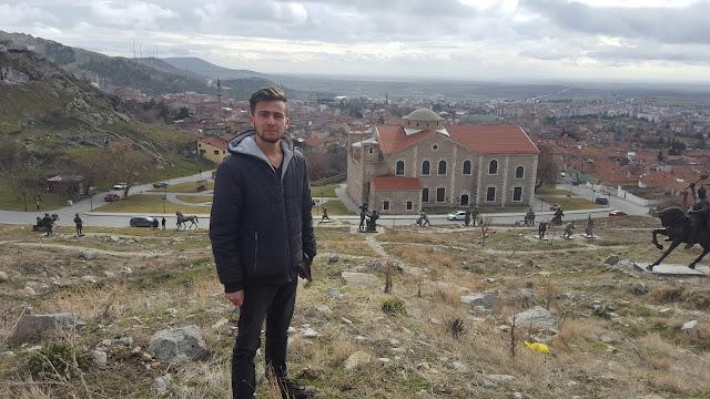 Harun İstenci Eskişehir Sivrihisar Ermeni Kilisesi'nde