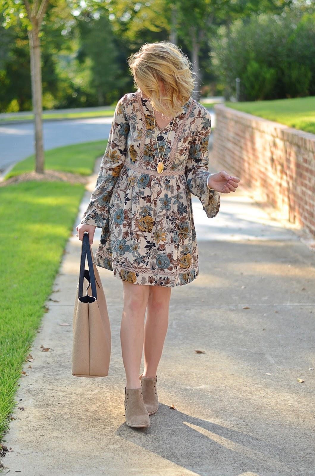 Dress + Booties