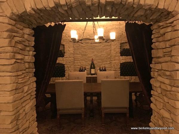 cellar tasting room at Domaine Serene in Dayton in Willamette Valley in Oregon