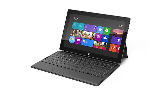 Microsoft Surface Tablet with Windows 8 Pro & RT black