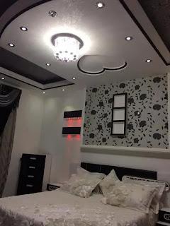 ديكورات جبس غرف نوم للعرسان جميلة 2021