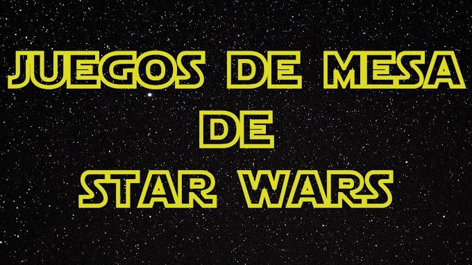 Juegos de mesa con temática de Star Wars