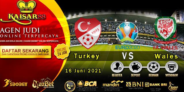 Prediksi Bola Terpercaya Piala Euro Turkey vs Wales 16 Juni 2021