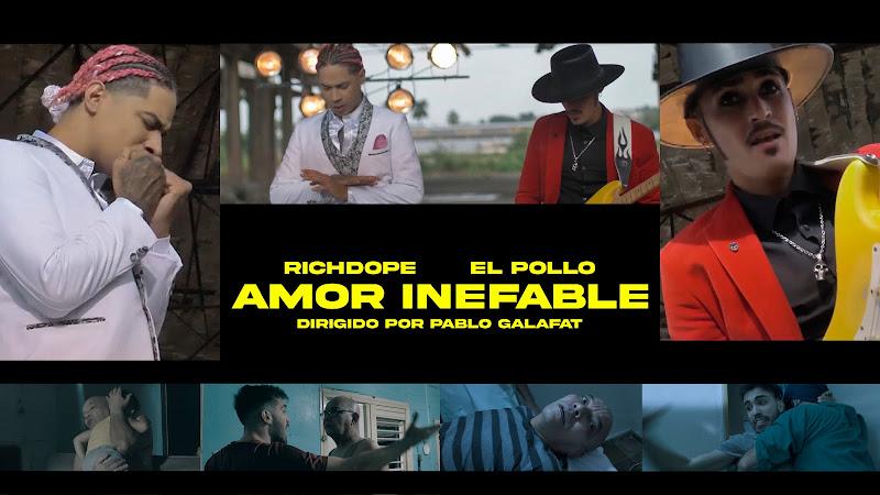 Richdope & Alejandro Infante (El Pollo QvaLibre) - ¨Amor inefable¨ - Videoclip - Dir: Pablo Galafat. Portal del Vídeo Clip Cubano. Música cubana. Cuba