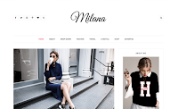 Download Theme Dari Beautytemplates Premium Milana Blogger Template Gratis Responsive | Seo Friendly | Clean