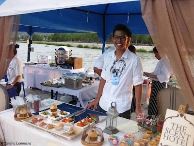 Blue Paradise Fest, Chaweng Lake, food
