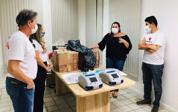 Juazeiro (BA) recebe doações de respiradores e EPI's do grupo de voluntários da campanha 'respira vida'