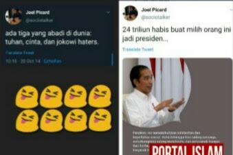 Ngakak! Pendukung Jokowi.. From This To This