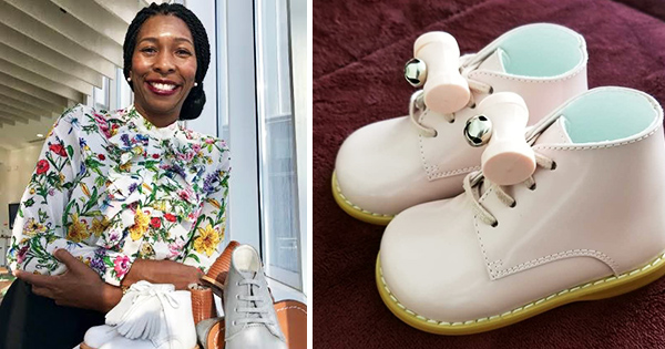 Yolandra Rodgers, founder of Tippy Tot Shoes