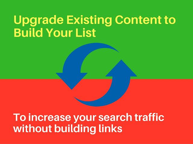 تحديث المحتوى لبناء القوائم البريدية لزيادة الترافيك لموقك الإلكتروني