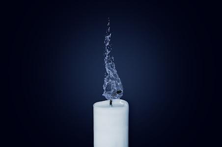 świeca-zgaszona