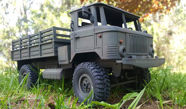 WPL B24 GAZ 66 RC Truck Kit