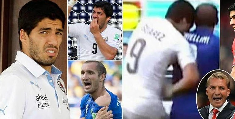 suarez banned world cup